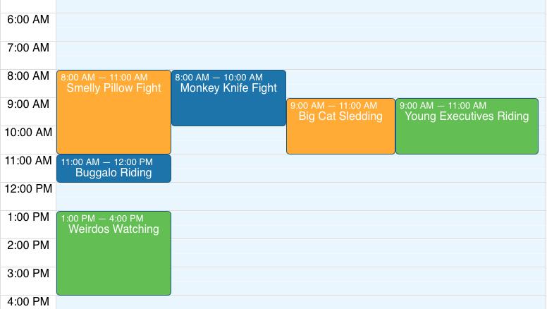 React Big Calendar.Build A Gcal Outlook Like Calendar With React And Css Grid